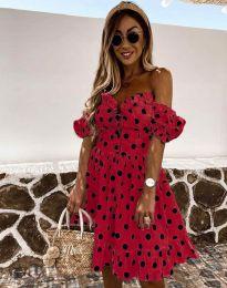 Šaty - kód 2686 - červená
