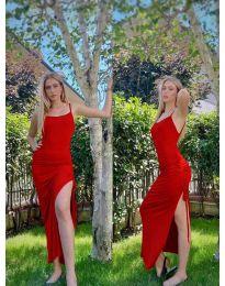 Šaty - kód 7858 - červená