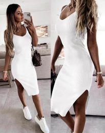 Šaty - kód 2378 - biela