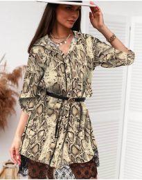 Šaty - kód 3635 - 4 - viacfarebné