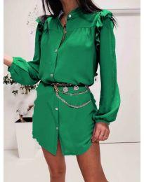 Šaty - kód 3433 - zelená