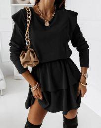Šaty - kód 12042 - čierná