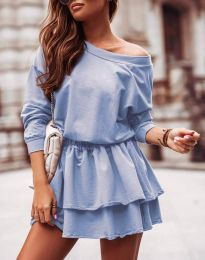 Šaty - kód 0525 - svetlo modrá