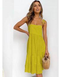 Šaty - kód 630 - hořčičná