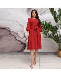 Šaty - kód 4571 - červená