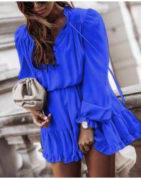 Šaty - kód 3231 - modrá