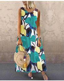Šaty - kód 0083-2 - viacfarebné
