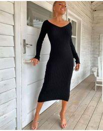 Šaty - kód 2333 - čierná