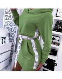 Šaty - kód 4483 - zelená