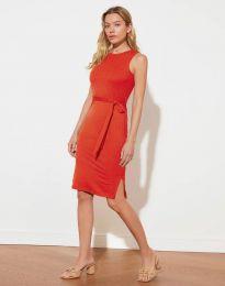 Šaty - kód 12950 červená