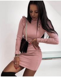 Šaty - kód 8484 - ružová