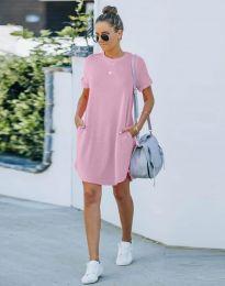 Šaty - kód 384444 - svetlo ružová