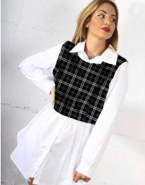 Košeľa - kód 9990 - 5 - biela