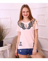 Tričko - kód 3568 - ružová