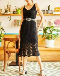 Šaty - kód 0351 - čierná