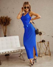 Šaty - kód 6166 - modrá
