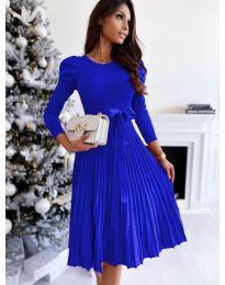 Šaty - kód 3939 - modrá