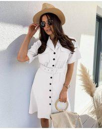 Šaty - kód 742 - biela