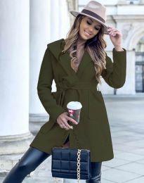 Kabát - kód 4973 - olivovo zelená