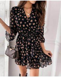Šaty - kód 5258 - čierná