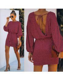 Šaty - kód 940 - bordeaux