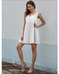 Šaty - kód 2255 - biela