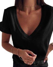Tričko - kód 2462 - čierná