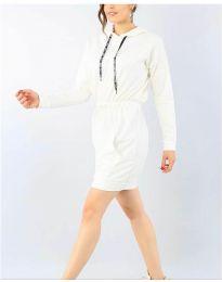 Šaty - kód 7315 - biela