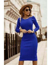 Šaty - kód 8485 - tmavomodrá