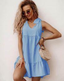 Šaty - kód 7206 - svetlo modrá