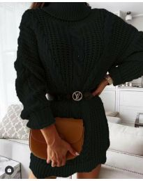 Šaty - kód 6071 - čierná