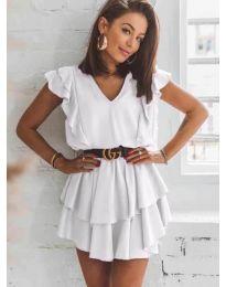 Šaty - kód 7173 - biela