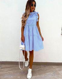 Šaty - kód 2663 - svetlo modrá