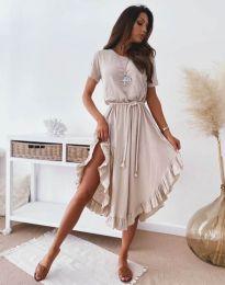 Šaty - kód 11893 - bežová