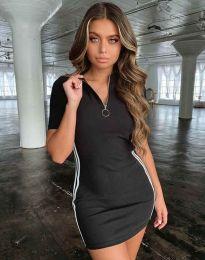Šaty - kód 2912 - 1 - čierná