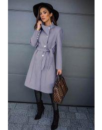 Kabát - kód 396 - šedá