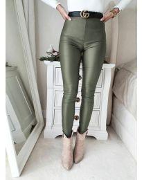 Nohavice - kód 2789 - 2 - olivová  zelená