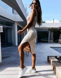 Šaty - kód 2378 - bežová