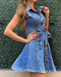 Šaty - kód 3690 - 1 - modrá