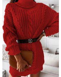 Šaty - kód 6071 - červená