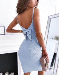 Šaty - kód 0987 - svetlo modrá