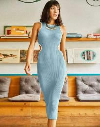 Šaty - kód 1358 - modrý