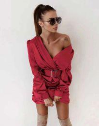 Šaty - kód 0659 - červená
