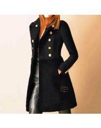 Kabát - kód 3100 - 3 - čierná