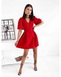 Šaty - kód 0807 - červená