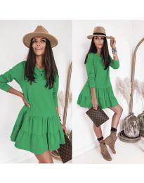 Šaty - kód 8486 - zelená