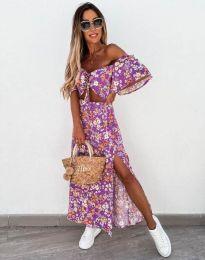Šaty - kód 6798 - fialová