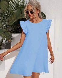 Šaty - kód 6261 - svetlo modrá
