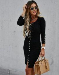 Šaty - kód 5822 - 1 - čierná