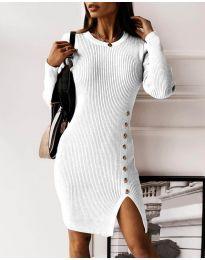 Šaty - kód 3200 - biela